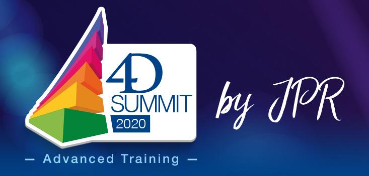 Você está convidado: junte-se ao 4D Summit 2020 - treinamento avançado por JPR